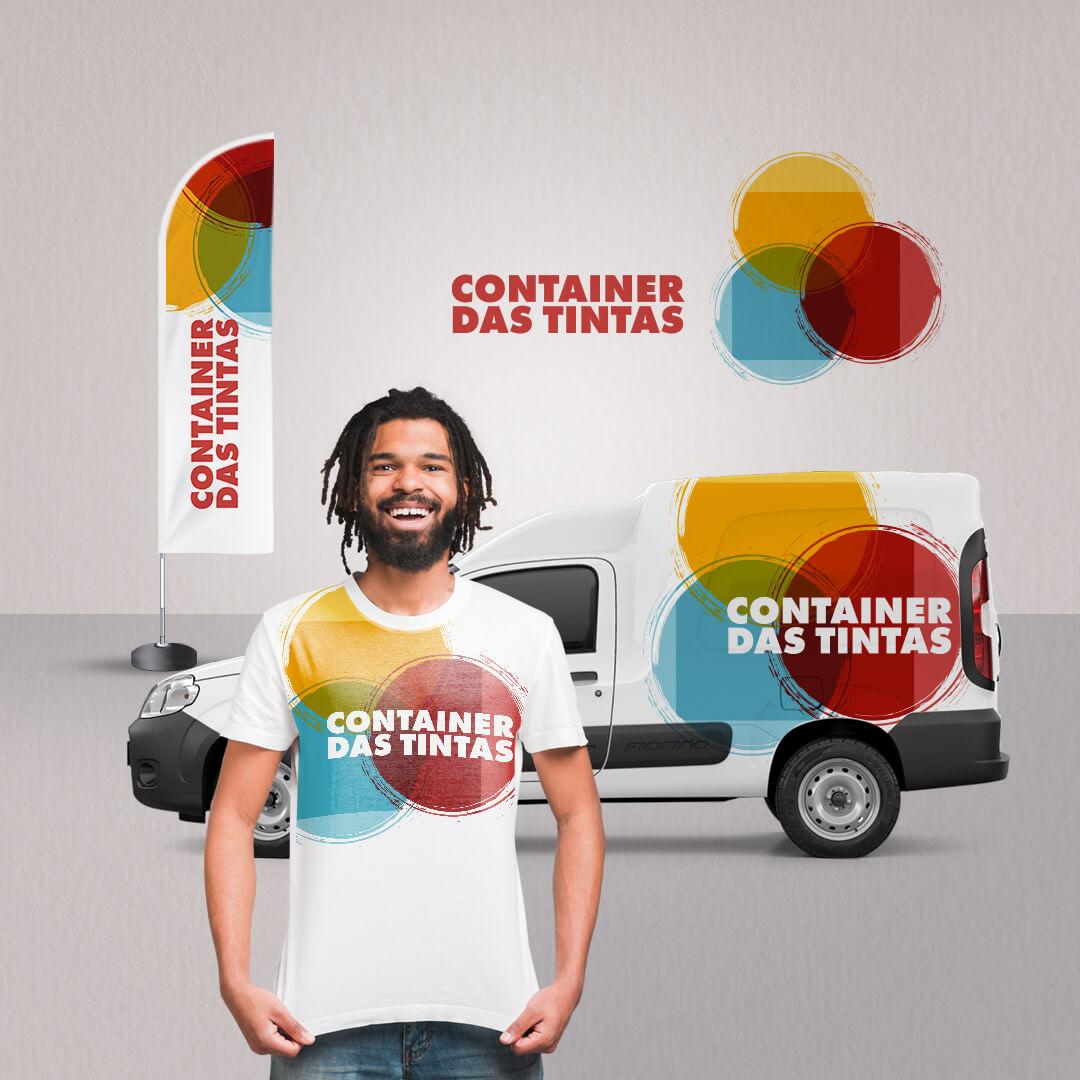 Identidade Visual Container das Tintas