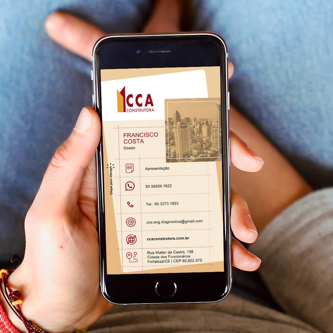Cartões digitais interativos